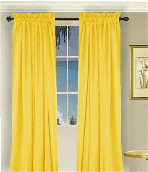 golden yellow curtains golden yellow long curtain set