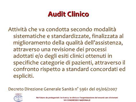 processi ed esiti dell assistenza per i pazienti con risultati di un audit di verifica del protocollo aziendale