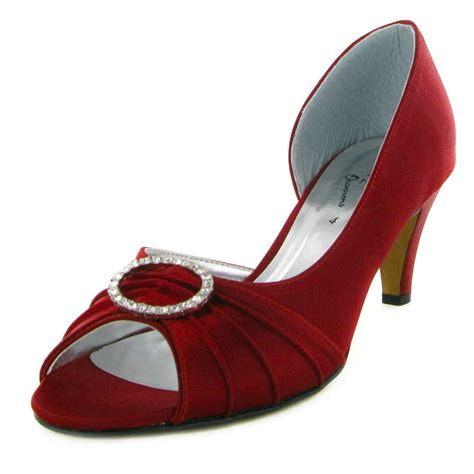 burgundy wedding heels burgundy peep toe satin kitten womens wedding