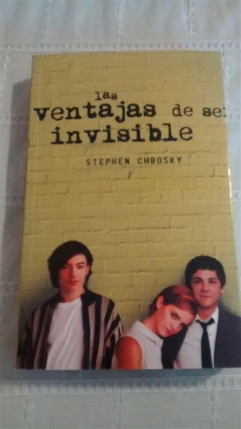 las ventajas de ser invisible libro en linea libro las ventajas de ser invisible stephen chbosky 220 00 en mercado libre