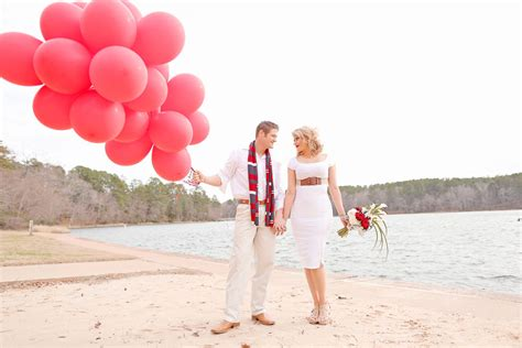 valentines engagement balloon valentines day engagement session state