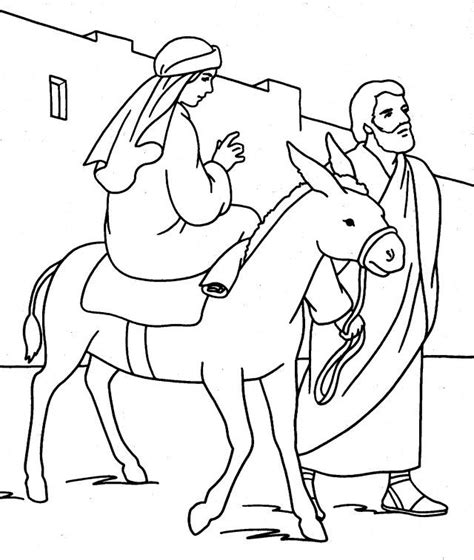 coloring pages mary and joseph bethlehem mary and joseph coloring pages coloring home