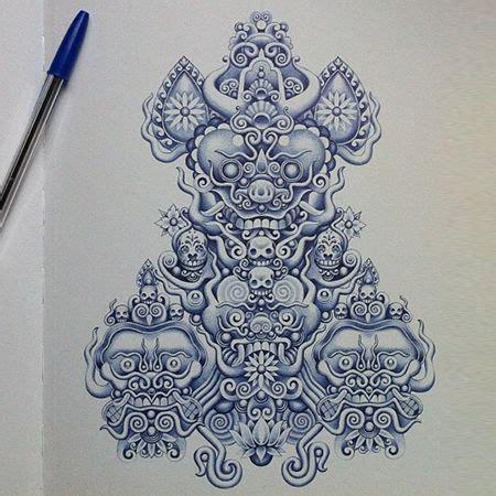 tattoo with bic pen 10 best gestalt leggi della percezione visiva images on
