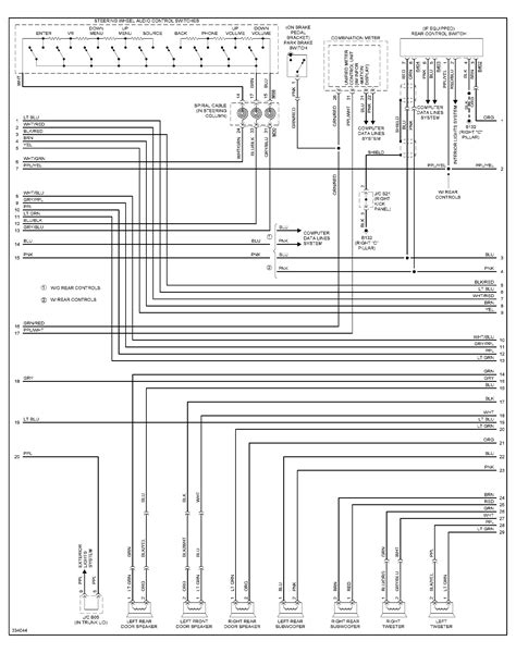 wiring diagram for the ac system for a 2012 nissan maxima