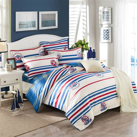 red and white striped comforter red and white striped bedding promotion shop for