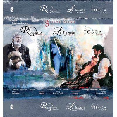 Juwita Set Tosca Lusianans la traviata rigoletto tosca dvd box set domingo dvds met opera shop