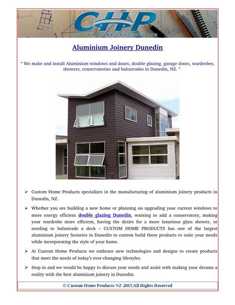 home design store dunedin aluminium and double glazing windows in dunedin by custom