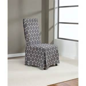 gray chair covers dining room chair covers gray stokk