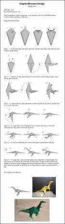 Origami Dinosaur - fairyyukiheart tutorial varios origamis