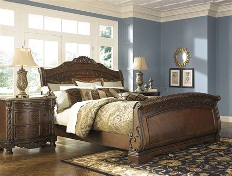 north shore bedroom set by ashley north shore bedroom b553 s dark brown by ashley furniture