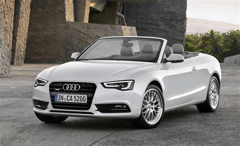 audi convertible car and driver