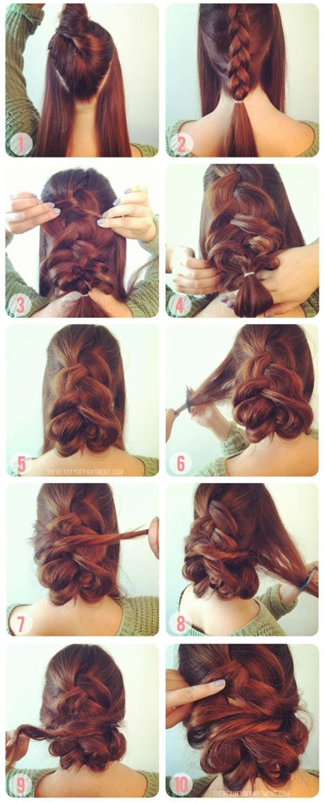 easy hairstyle video diy hair style ideas hair styles for long 17 quick and easy diy hairstyle tutorials