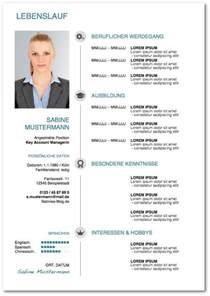 Lebenslauf Muster Mit Bild Lebenslauf Vorlagen Tipps Und Gratis Word Muster