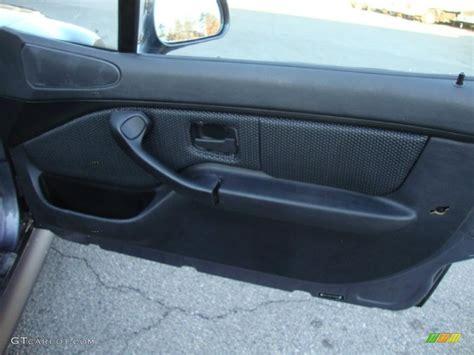 bmw z3 panels 2000 bmw z3 2 3 roadster black door panel photo 42338444