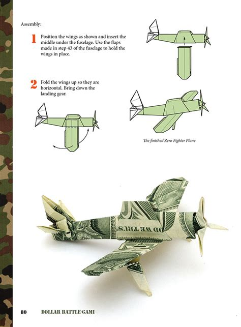 Won Park Origami Book - dollar battlegami by won park on behance