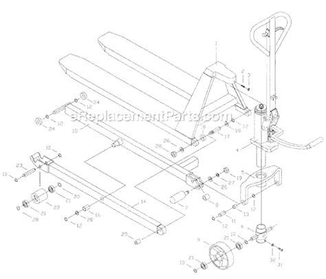 pallet parts diagram jet hlpt 2745 parts list and diagram 140088