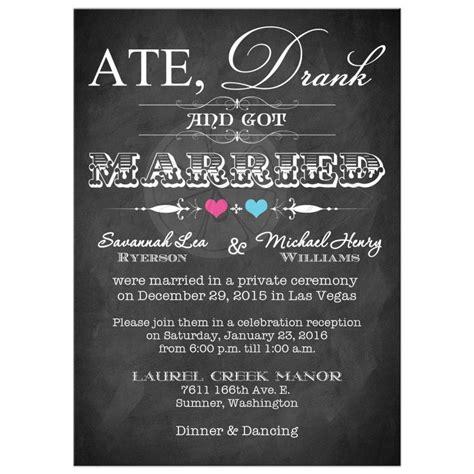 informal post wedding reception wording post wedding reception invitation wording staruptalent
