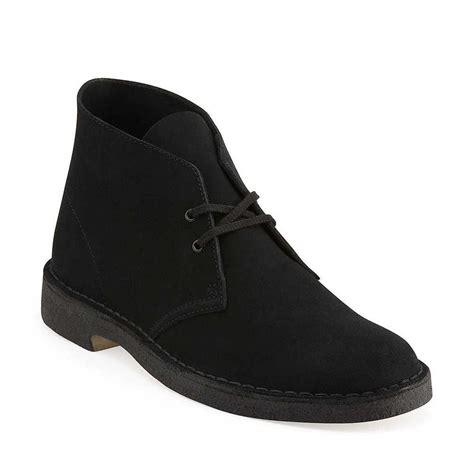black desert boats clarks originals desert boot men s black suede casual