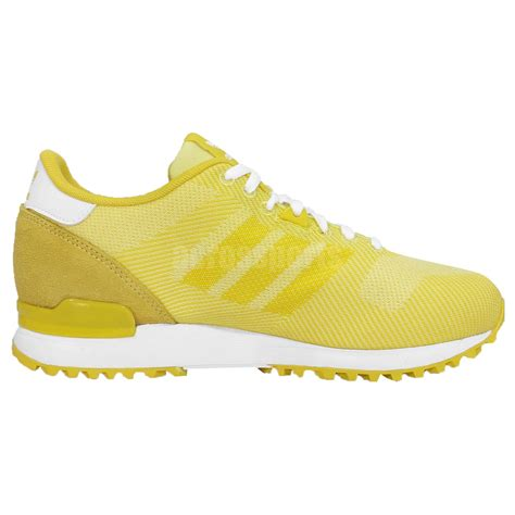 womens yellow sneakers adidas originals zx 700 weave w yellow womens running