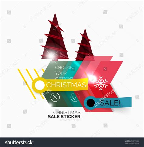 new year promotion banner shiny new year sale stock vector