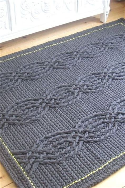crochet rope rug crochet pattern rope rug real studio projects for upcycled yarn rope rug