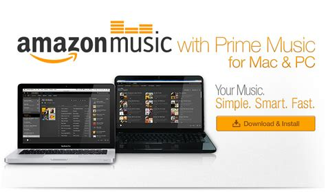 amazon music amazon music for pc and mac