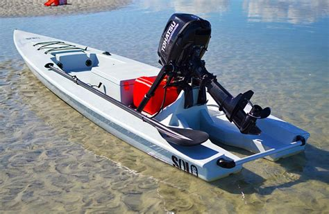 onlineoutboards recommended by solo skiff watercraft - Boat Motors Tohatsu