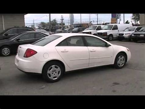 2007 pontiac g6 engine 2007 pontiac g6 startup engine in depth tour