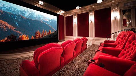 creative ideas  finish   home theater design