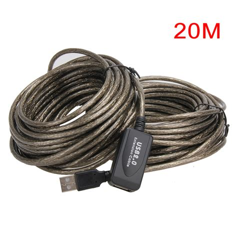 Rvtech Cable Usb Externsion 10m High Speed 5m 10m 15m 20m usb2 0 extension cable to