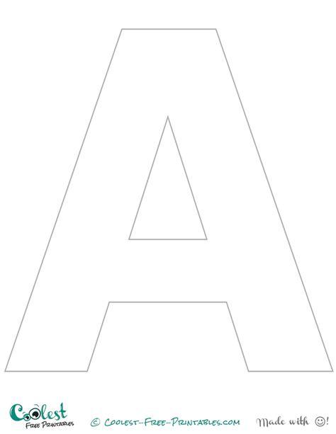 printable printable alphabet letter o template
