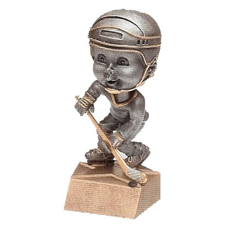 bobblehead t trophies hockey bobblehead trophy with