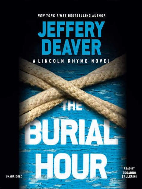 libro the burial hour lincoln the burial hour okaloosa county public library cooperative overdrive