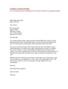 write cover letter offer letters for employment