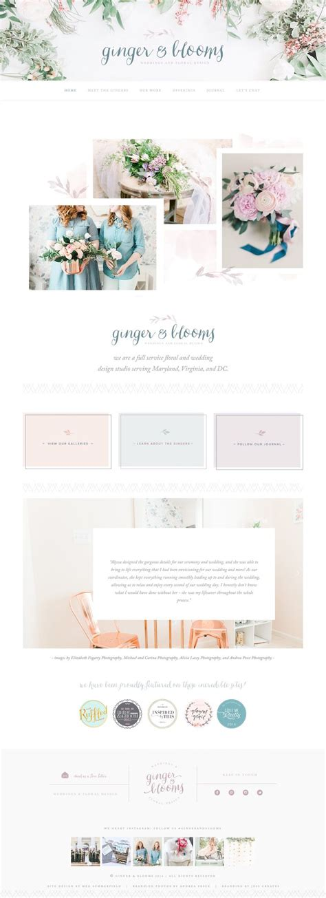 Best 25 Wedding Website Ideas On Pinterest Wedding Checklist Detailed Wedding Stationery Feminine Squarespace Templates