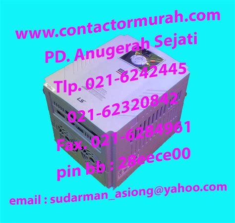 Mesin Las Trafo Las Inverter Porto Pd 85 jual inverter ls tipe sv075ig5a 4 10hp harga murah jakarta oleh pd anugerah sejati