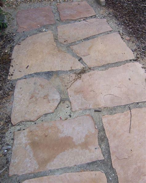 the 2 minute gardener photo flagstone set in decomposed granite