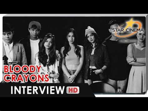 cast of my bloody exclusive meet the cast of bloody crayons