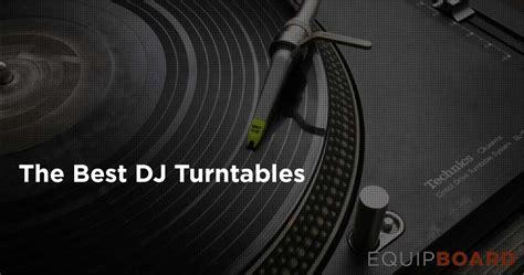 top best dj 5 best dj turntables november 2016 equipboard 174