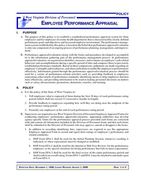 Letter Sle Negative Performance Evaluation bad appraisal letter 28 images performance evaluation letter sle docoments ojazlink sle