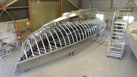 alu boot bouwen construction materials dick koopmans jachtontwerper