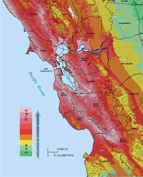 san francisco tsunami map putting roots in earthquake country your handbook for