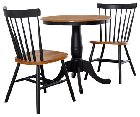 30 quot table with copenhagen chairs 3 set