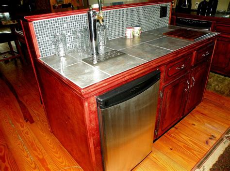 built in kegerator built in kegerator in da house pinterest