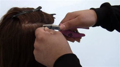 proper hair extensions proper installation of micro bead hair extensions