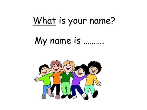 what is your name what does my name mean pinterest good morning class my name is yalda ppt video online
