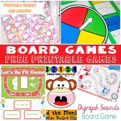 printable board games for kindergarten fun and free printable board games itsy bitsy fun
