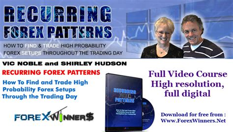 recurring pattern in french recurring forex patterns from vic noble and shirley hudson