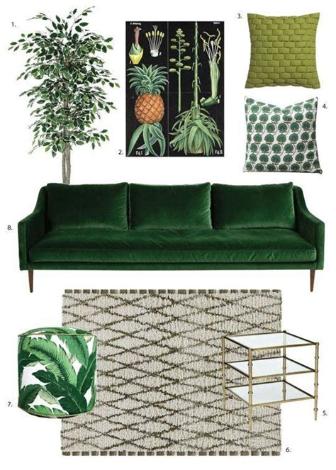 green sofa living room decor best 25 green decor ideas on velvet