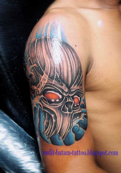 tribal tattoo jakarta radit batam tattoo oktober 2015